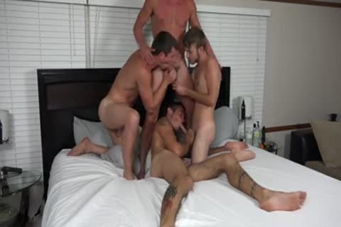 A pair AND TWO friends banging ON webcam