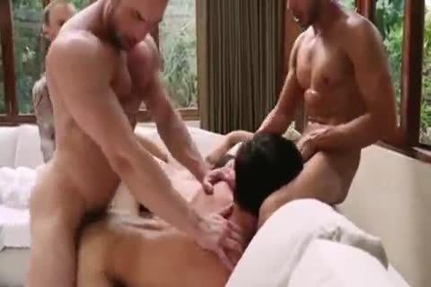 Breed That booty - bare group sex 5