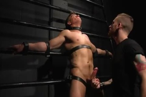 Straight chap Wants only bondage But that guy's Made