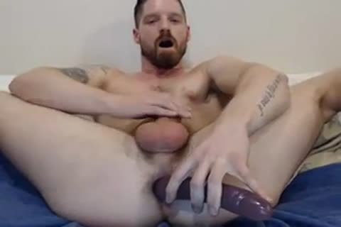 dildo In wazoo goo In Face