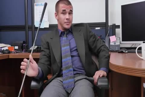 pound Teacher At Office