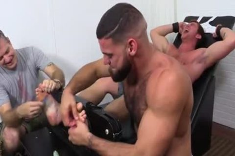 Connor Laughs On strap Tickle Chair