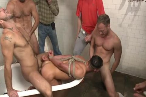 attractive Son bound And Facial