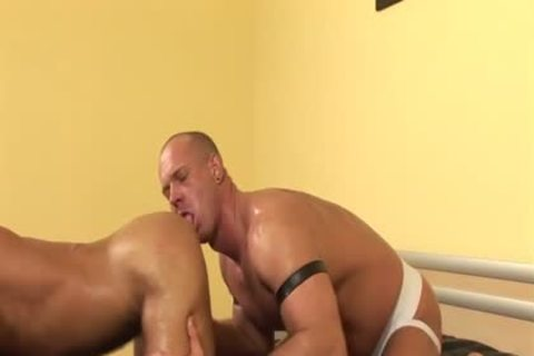 big 10-Pounder gay urinate And goo flow