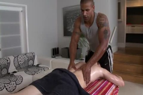large weenie gay oral sex With Massage