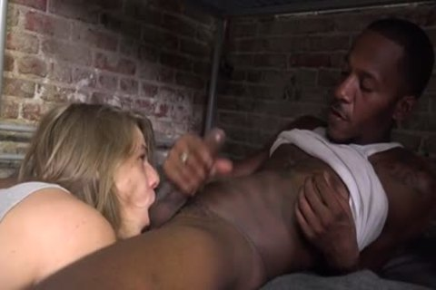 large 10-Pounder twinks Interracial With Facial sperm