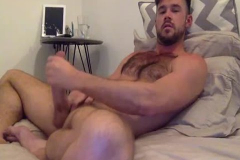 Mike De Marko Beating Off In couch