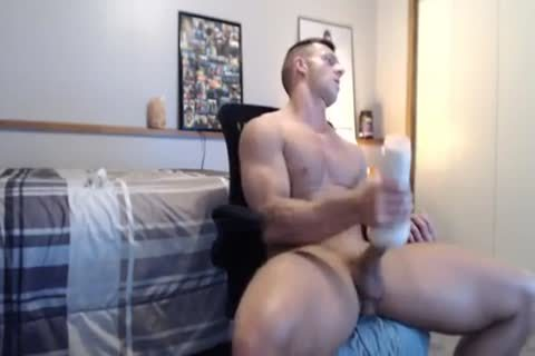 fine Fit fuck Gives His Fleshlight A nice plowing