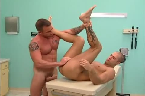 Muscle men drilling