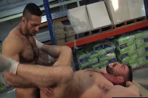 Muscle homo butthole job With cock juice flow