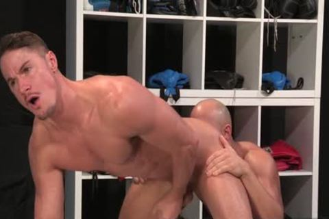 Muscle homo anal And anal cumshot