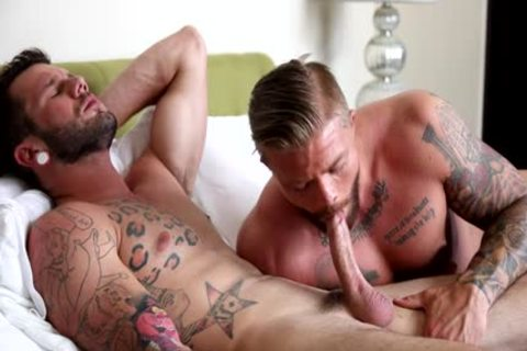Muscle homo anal job And goo flow