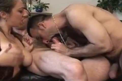 Two French bi-sexual boyz With Marie Lynne