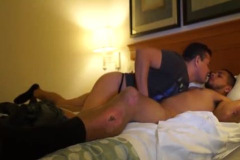 lusty Puerto Rican Straight lad fucks homo pooper For