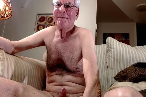 grand-dad jerk off On webcam