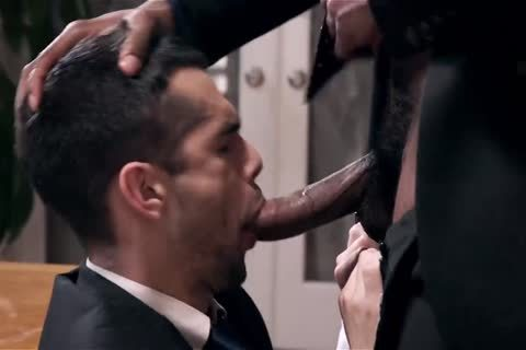 Giving Your black Boss A oral sex And Getting Barebacked