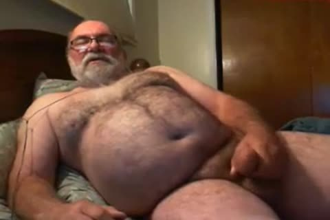grandpa Jim sperm On cam