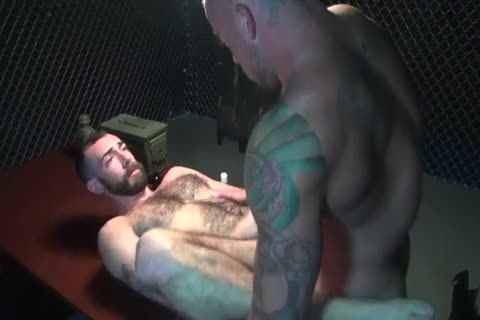 Gaytanamo - hairy Muscle raw Prison threesome