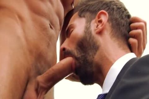 large pecker gay oral-sex And Facial