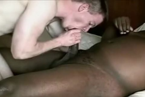 White guy receives pounded By chubby darksome