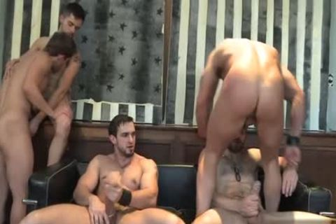 Muscle gay oral sex With ball cream flow