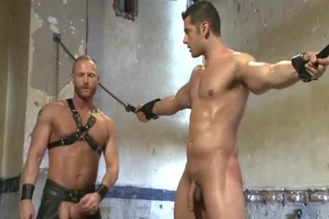 Muscle homosexual bound And Facial sperm