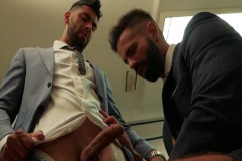 Muscle homo pooper job And cumshot