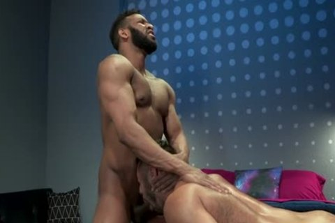 Muscle Bear anal With anal sex cream flow