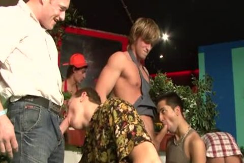 lusty homosexual Fetish And cumshot