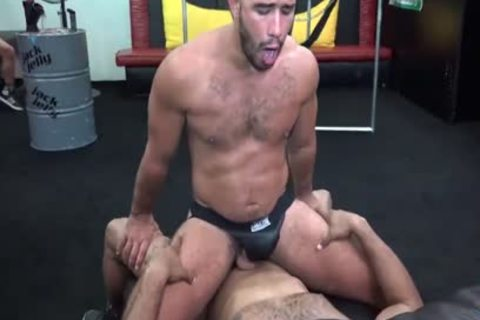 gigantic penis In The Back Room – Trey Turner & Ray Diesel
