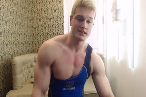 charming young Russian Muscle Hunk