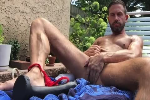 Dilf pounding His aperture Outside