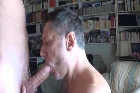 daddy Worships Feet And Sucks cock
