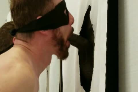 big BBC With large Hanging Balls Stops By My Gloryhole
