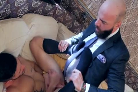 Muscle homosexual ass nail With ejaculation