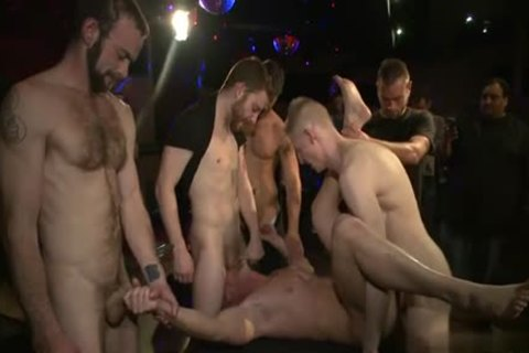 Muscle homosexual fastened And cumshot