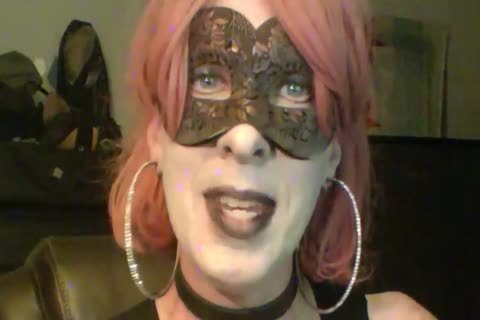 sexy Dancing Goth Cd cam Show Part 2 Of 2