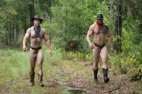 Southworld - Two Muscle boys In The Woods