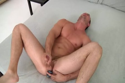 Devin Jerks Off With A sex tool