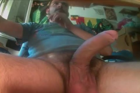Balls Full Of love juice gets Solo Jerked Off