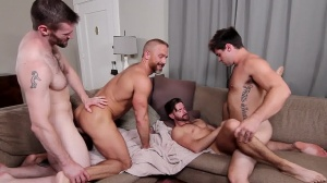 The In-Laws - Dirk Caber and Dennis West ass plow
