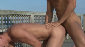 Fire Island - Diego Sans and Garrett Cooper butthole Hump