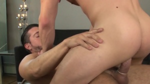 Central Park Cruising - Jimmy Durano & Colt Rivers ass Hook up