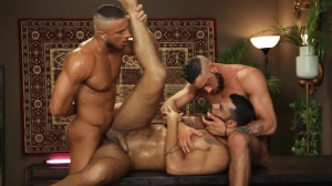 Telenovela - Lucas Fox and Massimo Piano ass Nail