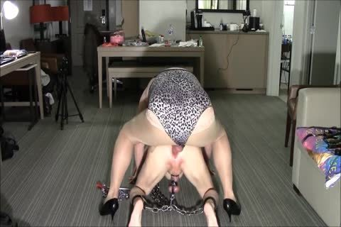 Chain whore Sissy Sex bondman meat
