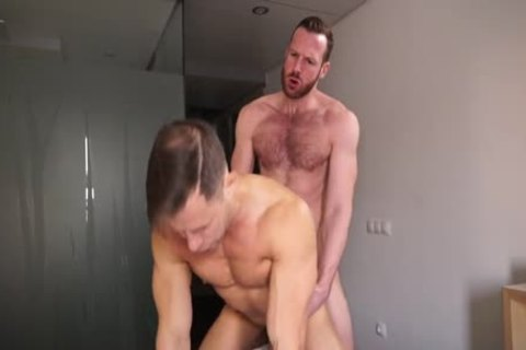 Ginger Daddy bangs Russian lad Hard!