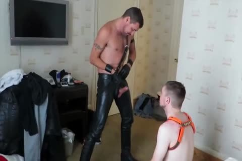 dom bare Leather Motel fuck-