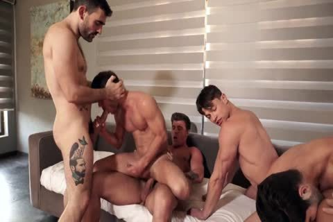 Join The Sweaty All-Star orgy Part two