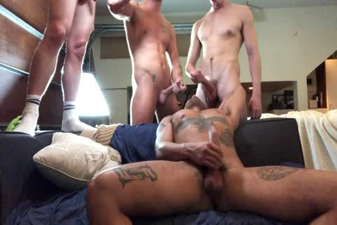Five Way orgy.