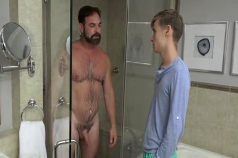chap pounds twink nude In The Shower And In bed